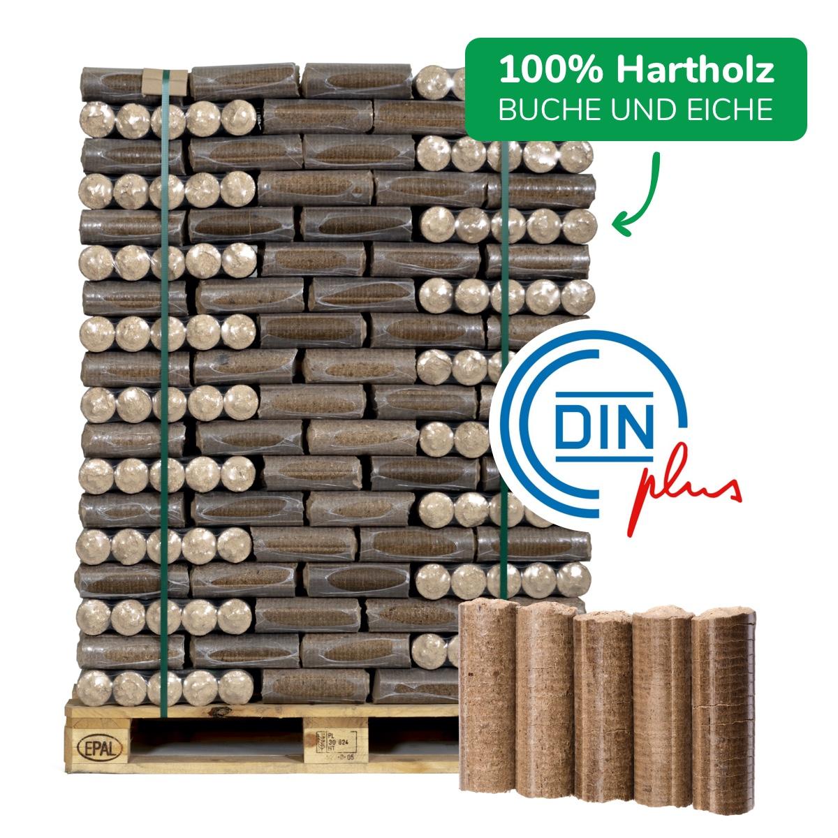 Premium-Holzbriketts (Hartholz, Nestro)