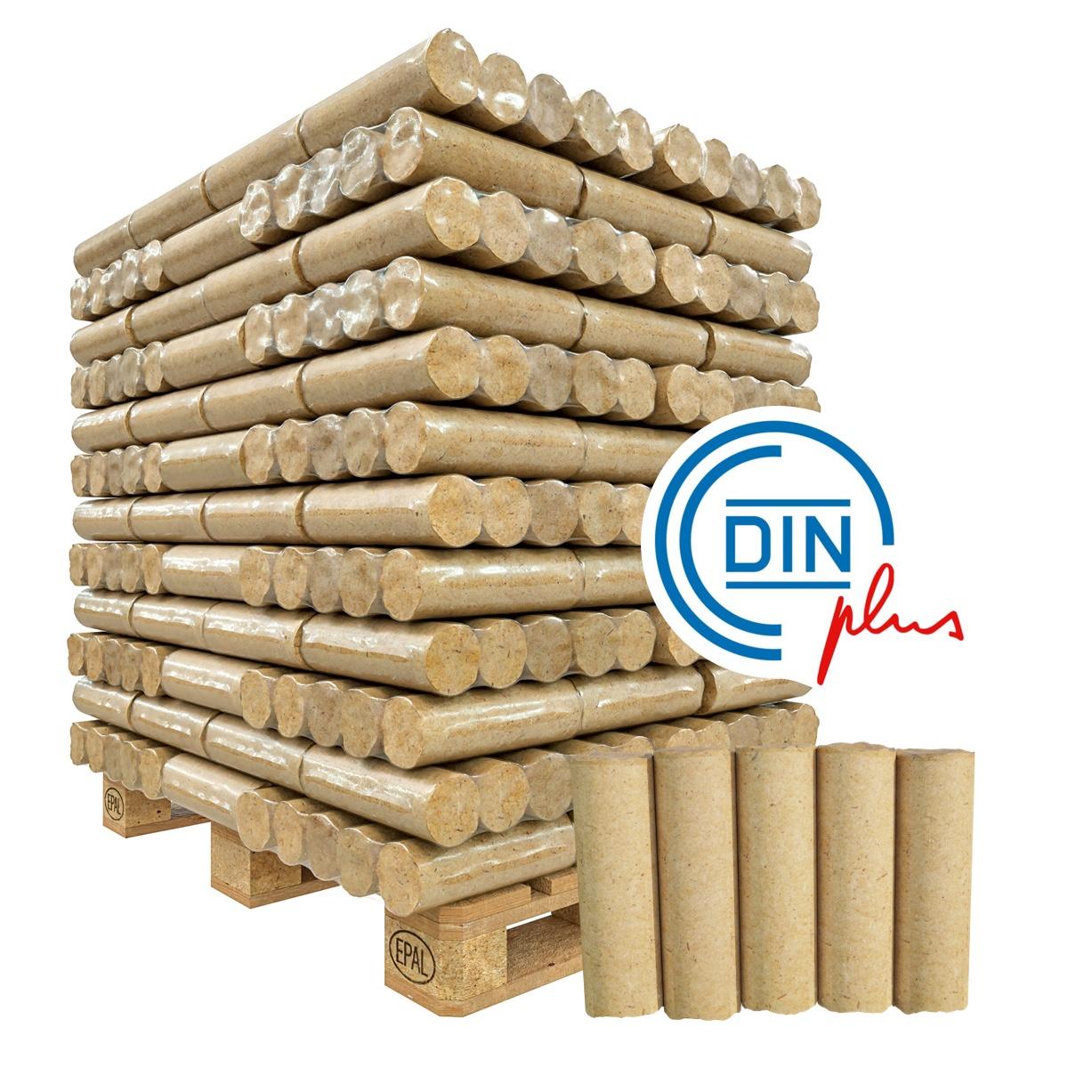 Premium-Holzbriketts (Nadelholz, Nestro)