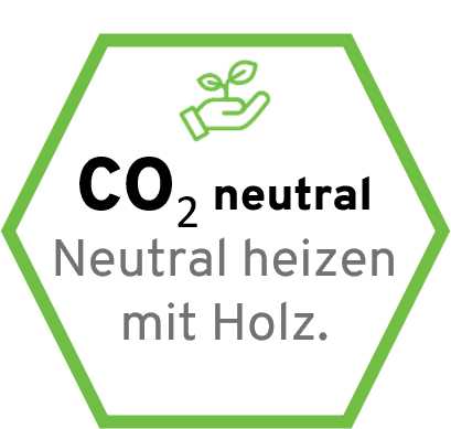 CO2 neutral Heizen mit Harrys Holz