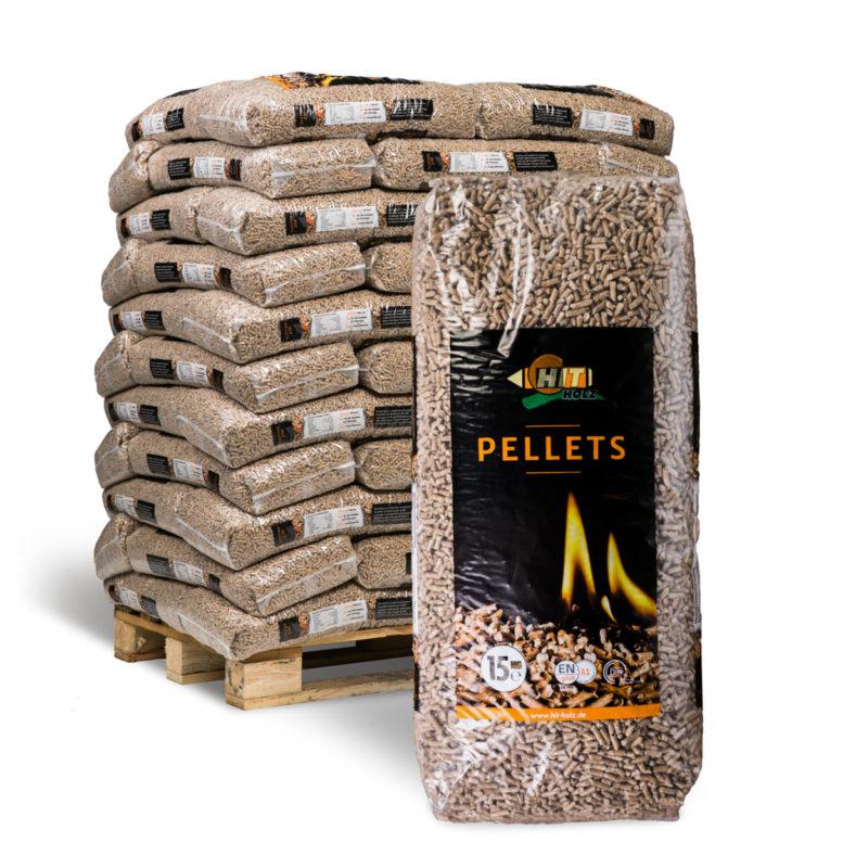 Nachhaltig heizen mit Holzpellets